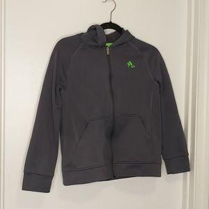 3/$15 kid's adidas grey zip up hoodie